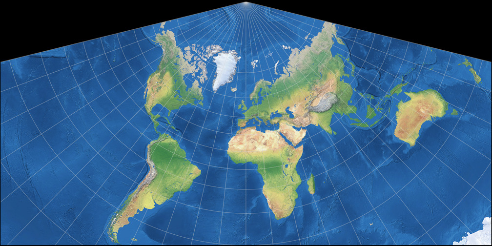 conic projection map A map projection is the process of transforming and representing positions from the earth's three-dimensional curved surface to a two-dimensional (flat.